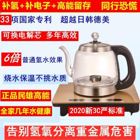 罗民雄2020高能负氢水壶负氢离子养生水壶,富氢水壶  负氢水机 水素水机